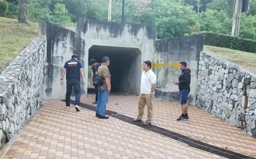(มีคลิป) คืบหน้า ตำรวจลงพื้นที่ตรวจสอบพร้อมหาแนวทางป้องกัน หลังพบถุงยางเกลื่อนสวนสาธารณะเมืองพัทยา